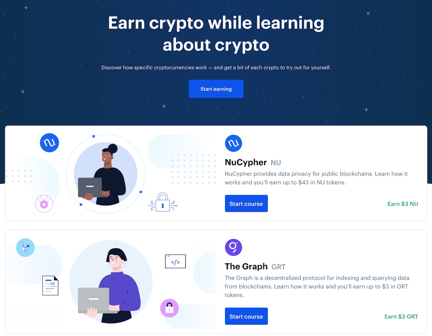 earn crypto on coinbase