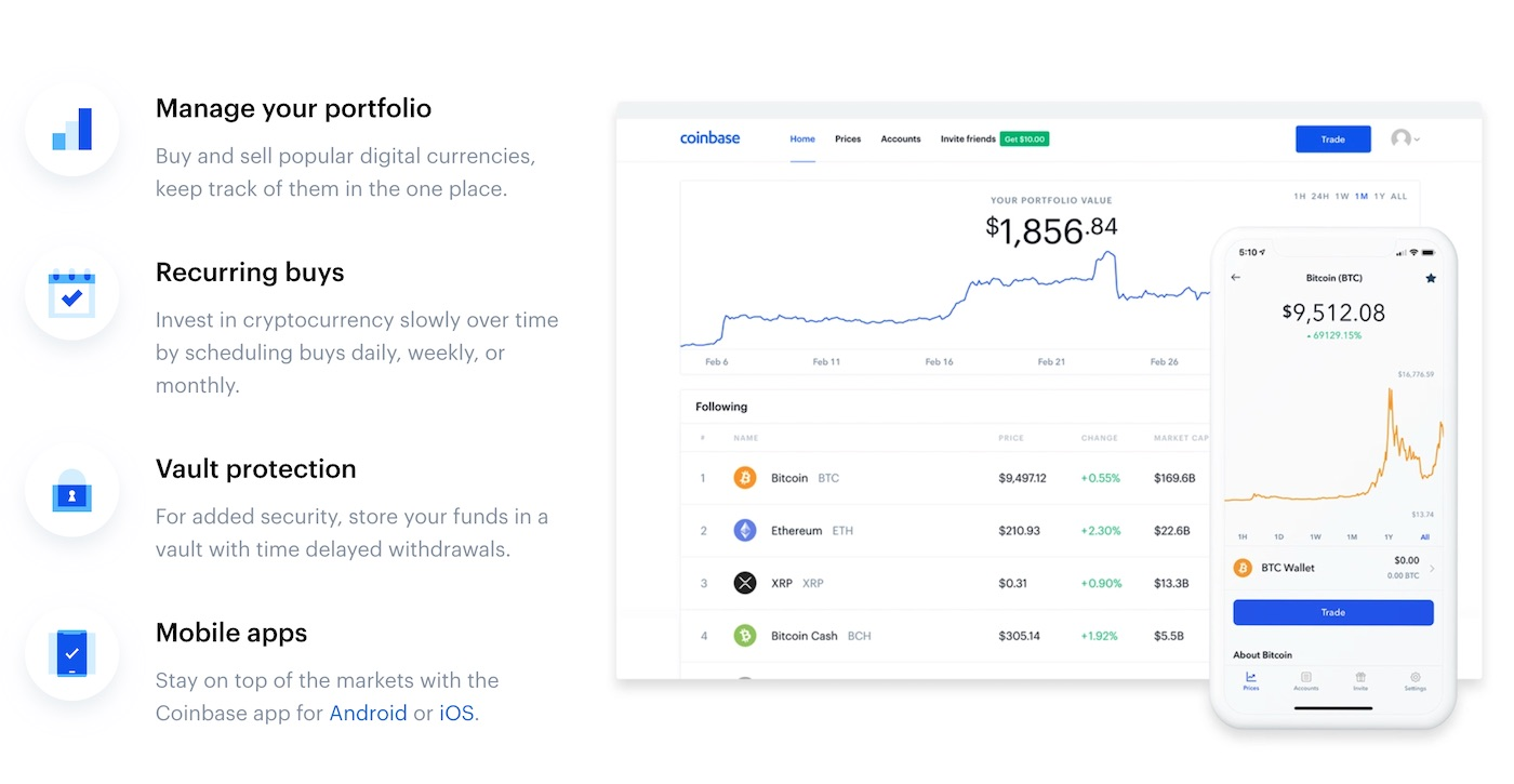 coinbase features review