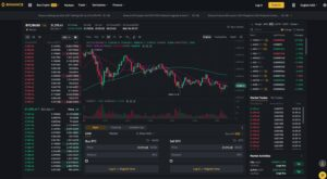 binance exchange bitcoin trading
