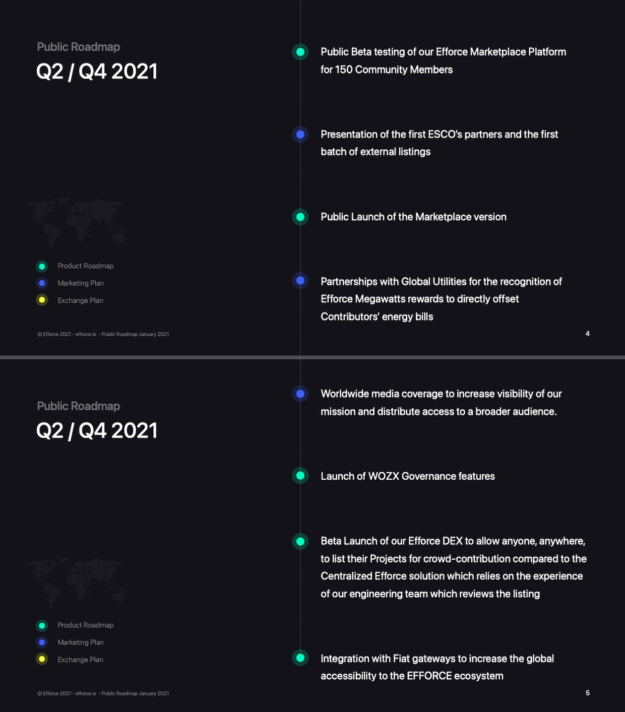 efforce roadmap 2021