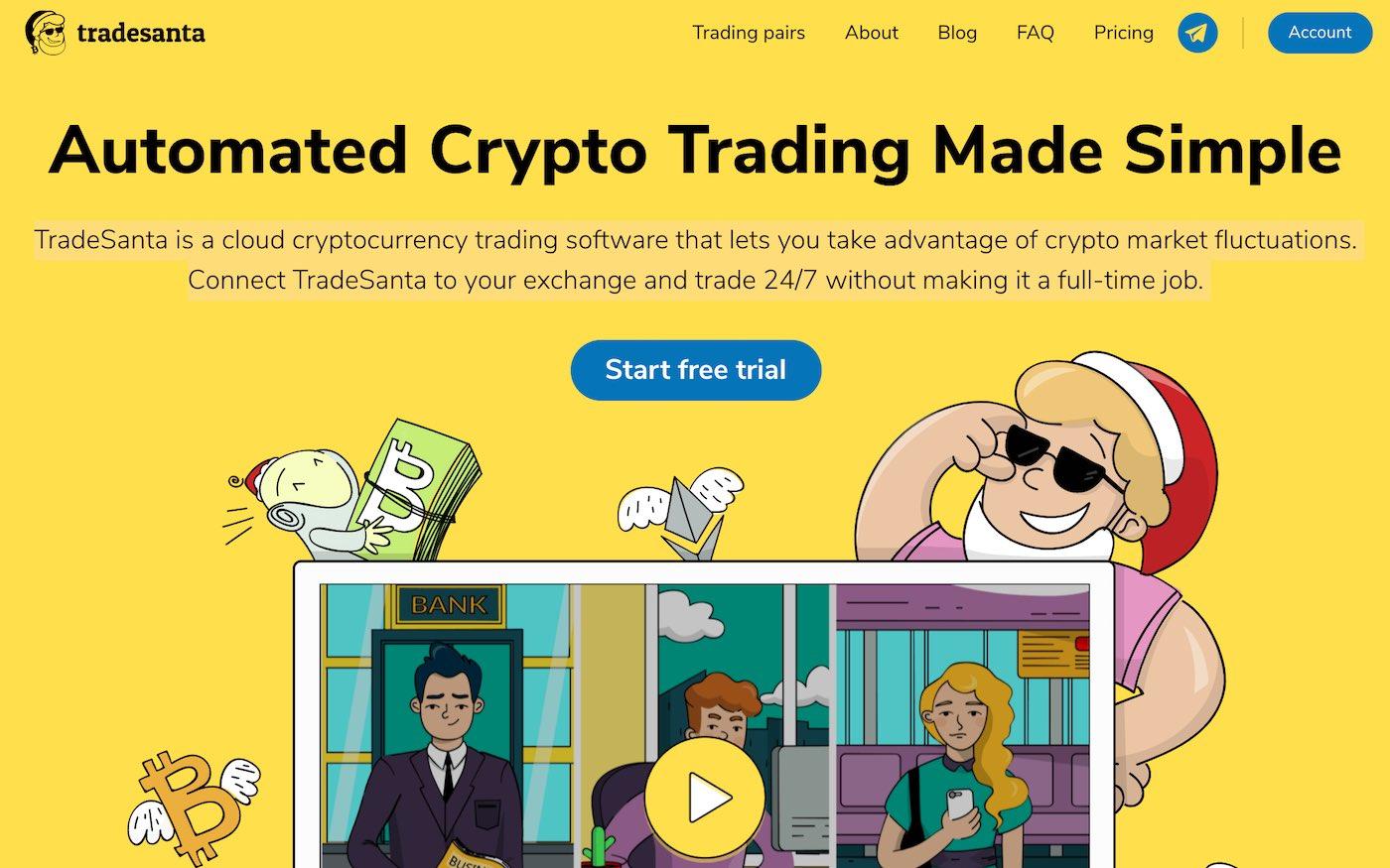 trade santa crypto trading bot